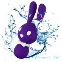 APHRODISIA Potentes Motores Vibradores de Conejo Productos Sexuales Estimulan el Clítoris Pareja Coqueteando Juguetes Sexuales Adultos para Mujeres S1018