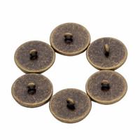 20 Stks Antieke Brons Kleur Blank Manchetknoop Basisknop Instelling Fit 12/14/16/18 / 20mm Glas Cameo Cabochon Lade voor Bezel K0534