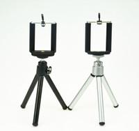 Evrensel Rotasyon Mini Metal Tripod Standı Braketi Tutucu Telefon Klip Ile Telefon Klip Için iphone Samsung Için
