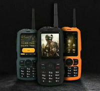 Neues ursprüngliches A17 IP67 schroffes wasserdichtes intelligentes Telefon Android 4.2 MTK6572 Doppelkern GPS Zello PTT 3G WCDMA 512 MB + 4 GB Handy Heißer Verkauf