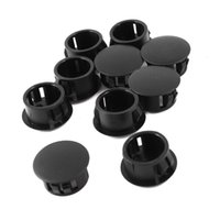 PHFU 10 pieces black plastic caps hole plugs pressure caps 1...