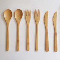 New Arrival Bamboo Cutlery Set Adult Japanese Style Bamboo J...