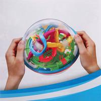 جديد 3D متاهة كروية ماجيك لغز الكرة متاهة اللغز لعبة التعليمية ماجيك الفكر الكرة كرات المغناطيسي للأطفال - 100 خطوات