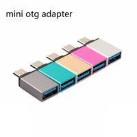 Mini Tipo C USB 3.1 OTG Maschio a USB Convertitore Tipo-C 3.0 Adattatore Connettore per Xiaomi Redmi Huawei Samsung Meizu LE