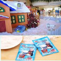 زينة عيد الميلاد الفورية سنو ماجيك سند حظة مسحوق الثلج الاصطناعي محاكاة وهمية الثلوج ليلا حزب تزيين