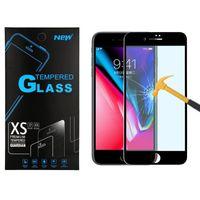 Voor Samsung J3 2018 J7 Prime LG Stylo 4 Aristo 2 Motorola E5 Plus G6 Play Full Cover Tempered Glass Screen Protector Metropcs Hard Edge