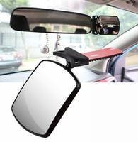 Espejo retrovisor del automóvil Interior adicional automotriz Cuidado del bebé Espejos interiores especial para verificar la seguridad del asiento trasero