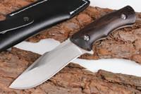 jabalí Busse SZ003 fija el cuchillo recto 58HRC 440 de la manija lámina que acampaba táctico cuchillo cuchillos Adru
