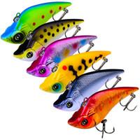 Marca ABS Plástico VIB Laser señuelo de la pesca 9cm 19g Lipless Likelife Fish Bass cebo Para toda la profundidad del agua