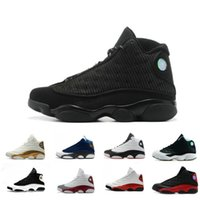 Wholesale Online 13 Basketball Shoes For men Black Cat 3M 41...