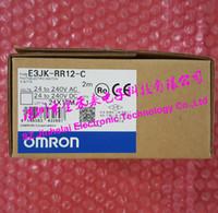 جديدة ومبتكرة E3JK-RR12-C OMRON التبديل الكهروضوئي استشعار كهروضوئية 2M 24-240VAC / 24-240VDC