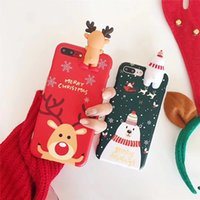housse de coque de noël squishy animal multi styles tpu soft pour iPhone XS Max