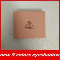 نوعية جيدة جديد في المخزون 3CE جفن تجاوز 9 ألوان ظلال العيون لوحة الأرض اليقطين عينيه ماكياج شحن مجاني