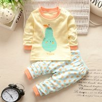 New Arrival New Born Baby Set Autumn Cute Animal T- Shirt + P...