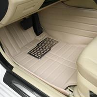 폭스 바겐 비틀 CC 골프 제타 Passat Tiguan Touareg 샤란 카 - 스타일링 카펫 바닥 라이너에 대한 사용자 정의 맞는 자동차 바닥 매트