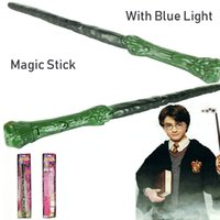 Cosplay Harry Botter Zauberstab Props LED-Leuchten Ton Sticks Hogwarts magischer Stab Cosplay Weihnachten-Geburtstags-Party Geschenk Spielzeug
