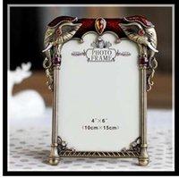 ElimElim 4x6 pouces Haute qualité européenne classique en métal cadre photo vintage cadres photo livraison gratuite