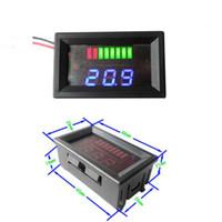 Detector del indicador del probador de la capacidad de la batería de plomo de Freeshipping 6v / 12v / 24v / 36v / 48v / 60v / 72v