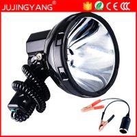 Яркий переносной HID прожектор 220W ксенон поиск света охота 12V прожектор 35w, 55w, 65w, 75w, 100w, 160w