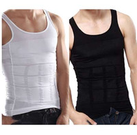 Men Firm Tummy Belly Buster Vest Control Slimming Body Shape...