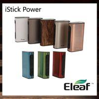Eleaf iStick Poder iPower 80 W TC Mod 5000 mah Bateria Firmware atualizado Mais Recente Firmware Recém Adicionado Função de Reposição 100% Original