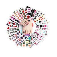 220пк ногтей наклейки водонепроницаемый моющийся ногтей трафарет для ногтей трафарет наклейки Vosaidi