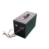Batteria 48v lipo ad alta energia ricaricabile Batteria 13S1P 48V 60Ah lipo con monitor e BMS per sistema di accumulo di energia / alimentazione portatile