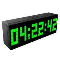 Новое прибытие большой цифровой шахматы часы обратный отсчет часов минут второй и отображения температуры дата специальности часы