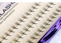 6D Natrual faux mink hair silk lashes eyelash extensions fal...