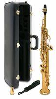 Japan S-901 BB platt soprano saxofon högkvalitativa musikinstrument Yanagisawa Professionell presentväska