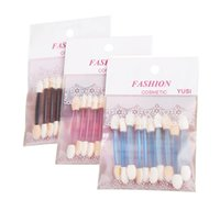 individual packing disposable eye shadow applicators for eye...