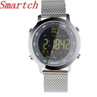Smartch EX18 Smart Watch 5ATM Professional Waterproof Pedome...