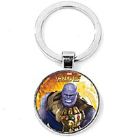 Children Marvel Comics hero the Avengers Thanos KeyChain Inf...