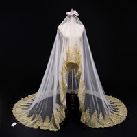 Luxury Wedding Long Veils Three and A Half Metres Long One L...