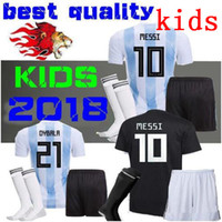 kids Argentina Soccer Jersey HOME AND away 2018 Argentina KI...
