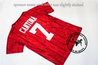 7597b7dece4 Nouvelle Arrive. Livraison gratuite 1993-94 Premier League Champions  Home Shirt  Cantona   7 Giggs   11 rétro vieux maillot de football