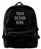 YOUR DESIGN HERE Canvas Shoulder Designer backpack Best Back...