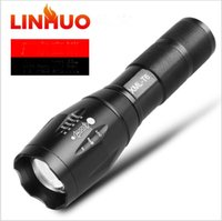 Factory direct sale A100 strong light flashlight LED telesco...