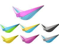 Portable Nylon Single Person Hammock 230*90cm Parachute Para...