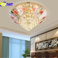 현대 럭셔리 크리스탈 둥근 꽃 돔 빛을 흡수 LED가 반짝 이는 반투명 거실 침실 샹들리에 침실 램프