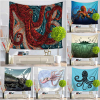High Quality wall tapestry multifunction octopus printing ta...