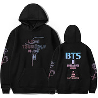 BTS LOVE YOURSELF Women Hoodies Sweatshirts K- pop Fans Sweat...