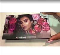 2018 Marca mais quente Rose Gold Remastered Eye Shadow Palette por Desert Edition Limited 18 Cores Transporte Rápido