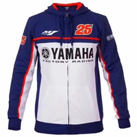 Hommes moto yamaha à capuche racing moto équitation à capuche vêtements veste hommes vestes cross Zip jersey sweatshirts manteau coupe-vent