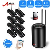 NEW ANRAN Plug and Play 8CH 1080P Full HD Wireless NVR Kit W...