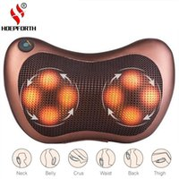 Pillow 8 Balls Deep- Kneading Back Massage Electric Neck Rela...