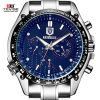 70bae82d3456 Reloj de hombre impermeable TEVISE reloj mecánico automático de cuerda  militar deportivo reloj de pulsera Relogio