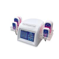 معدات التخسيس الدهون ديود الليزر 6pads LLT انحلال الشحن السيلوليت سريع ضئيلة الجسم تشكيل آلة