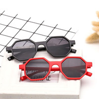 2018 new style octagonal fashion sunglasses Europe and the U...