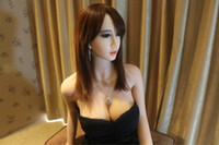 Life- size Shemale Sex doll big boobs sex silicone doll 163cm...